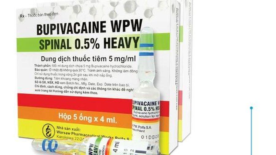 Cục Quản lý Dược khẳng định chưa nhận được báo cáo đề nghị dừng sử dụng thuốc gây tê từ Sở Y tế Cần Thơ