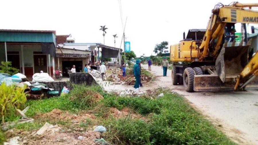 Xã nghèo nỗ lực cán đích nông thôn mới