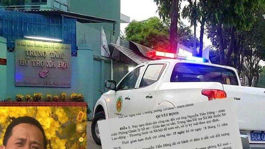 TP.HCM báo cáo của vụ dâm ô tại trung tâm hỗ trợ xã hội