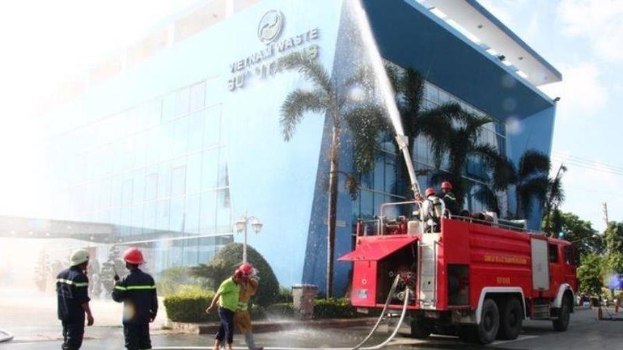 TP.HCM diễn tập thử các tình huống an ninh ở Tân Sơn Nhất