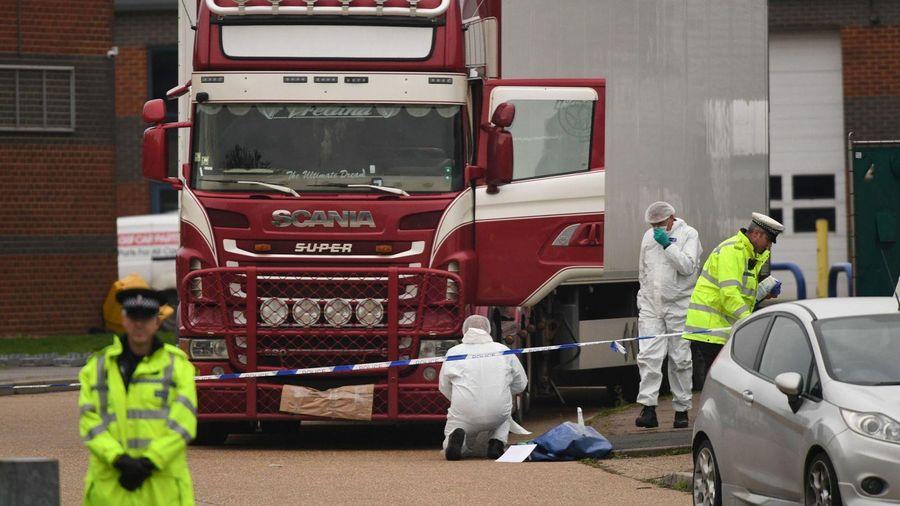 Cảnh sát Anh bắt một người đàn ông vụ 39 nạn nhân Việt trong xe tải