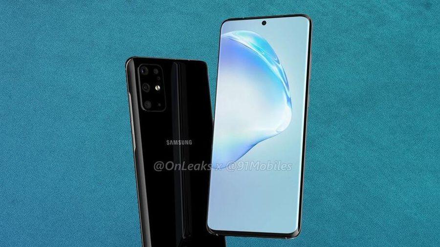 Galaxy S11 qua thiết kế 5 camera, màn hình đục lỗ