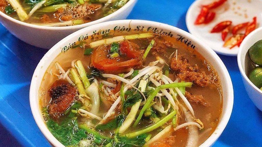 Những món ăn không thể bỏ qua ở ngõ ẩm thực Trung Yên