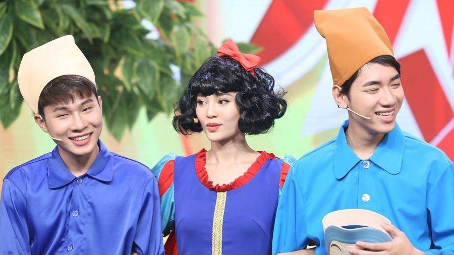 Lan Ngọc bị gọi là cô khi tham gia game show cùng Jack, K-ICM