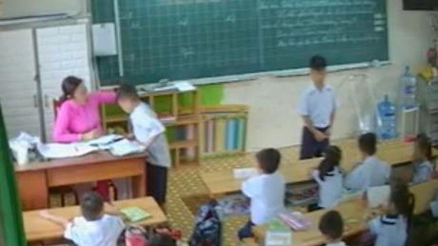 UBND TP.HCM đề nghị xử lý nội dung tố cáo của cô giáo đánh học sinh