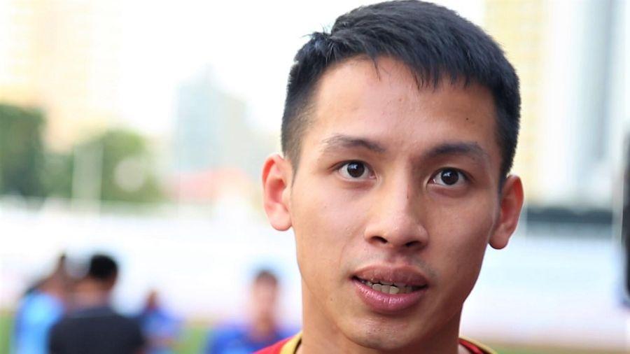 Tiền vệ Hùng Dũng: 'Malaysia và Thái Lan là 2 đối thủ lớn nhất'