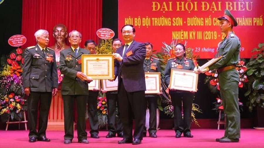 Đại hội Hội Bộ đội Trường Sơn - Đường Hồ Chí Minh TP Hà Nội lần thứ 3