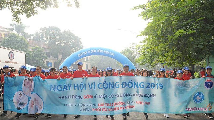 Hơn 3.000 người hưởng ứng Ngày hội Vì sức khỏe cộng đồng