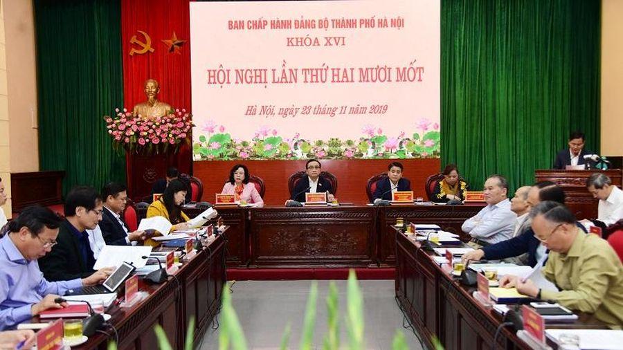 Bí thư Thành ủy Hoàng Trung Hải: Đề cao vai trò, trách nhiệm, gương mẫu của người đứng đầu