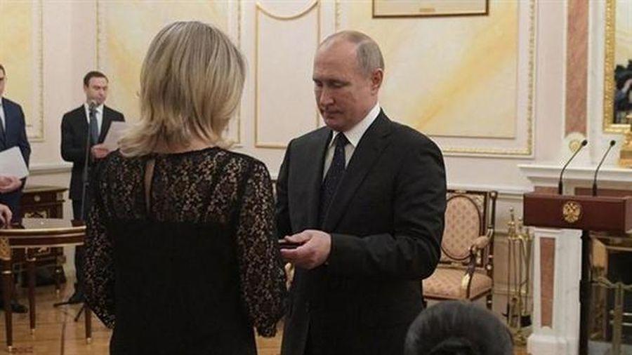 Ông Putin vinh danh 5 kỹ sư trong vụ thử nghiệm hỏng