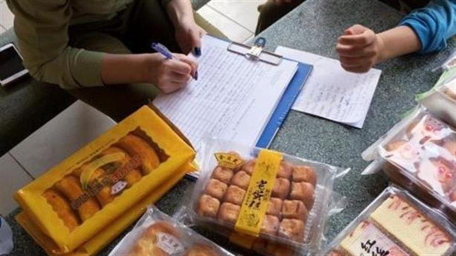 Bánh bông lan Trung Quốc không rõ chất lượng ở TP.HCM