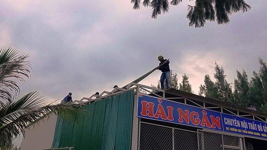 Xử lý công trình trái phép tại xã Nhân Trạch (Quảng Bình)