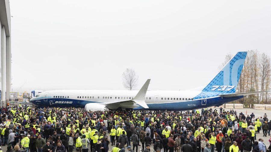 Boeing ra mắt dòng máy bay 737 MAX 10