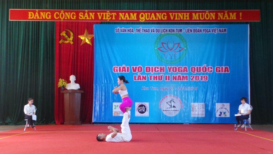 Khai mạc giải vô địch Yoga quốc gia lần II