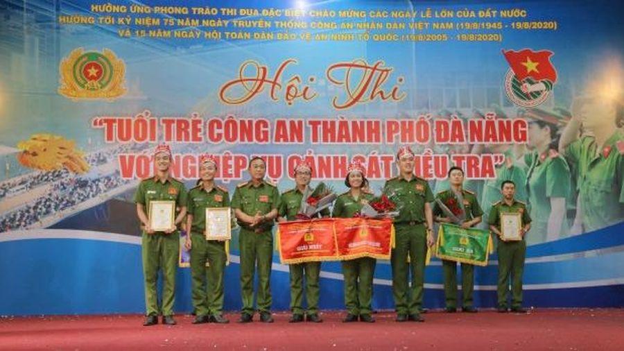 Sôi nổi hội thi 'Tuổi trẻ Công an TP Đà Nẵng với nghiệp vụ Cảnh sát điều tra'