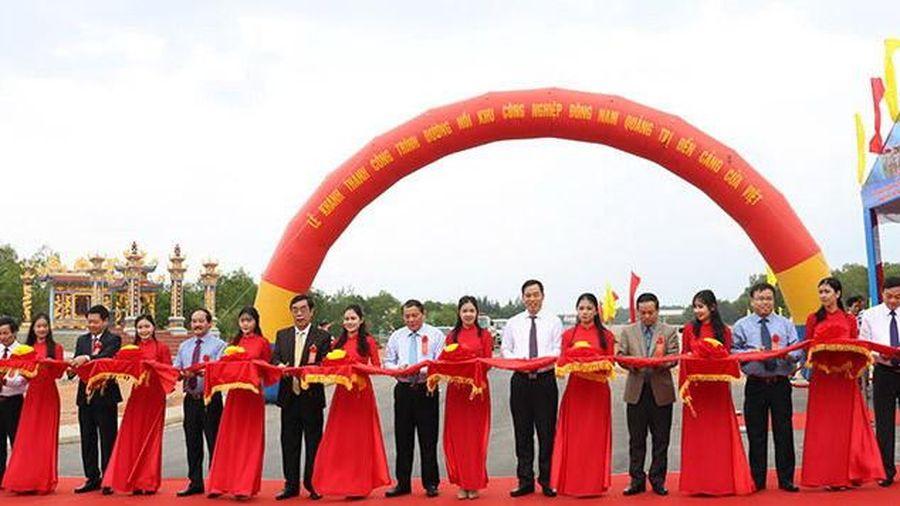 Khánh thành đường trung tâm trục dọc Khu kinh tế Đông Nam Quảng Trị