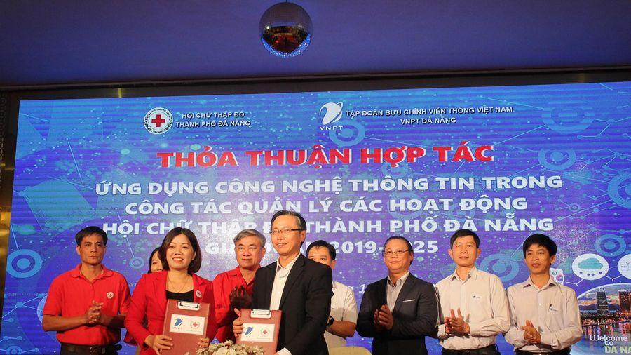 Hội Chữ thập đỏ Đà Nẵng ứng dụng công nghệ thông tin vào các hoạt động