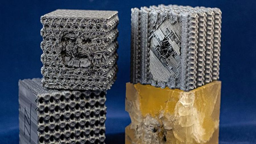 In 3D nhựa theo cấu trúc 'tubulane' chống được cả đạn bay