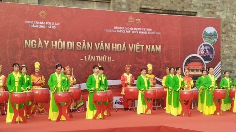 Hàng trăm nghệ nhân cả nước trình diễn tại Ngày hội di sản văn hóa Việt Nam