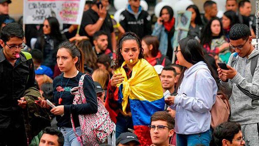 Colombia trước làn sóng đình công trên toàn quốc