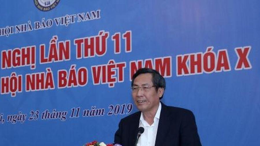Hội nghị lần thứ 11 Ban Chấp hành Hội Nhà báo Việt Nam khóa X
