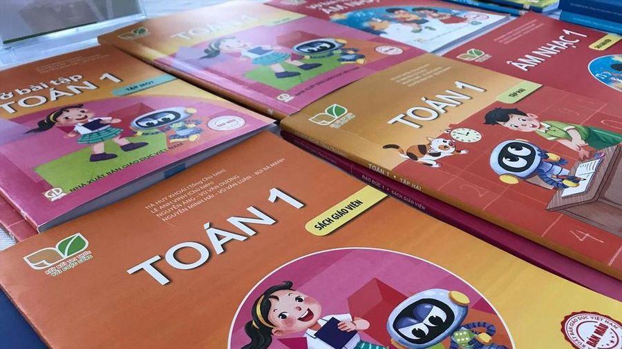 Công bố các bộ sách giáo khoa lớp 1 mới