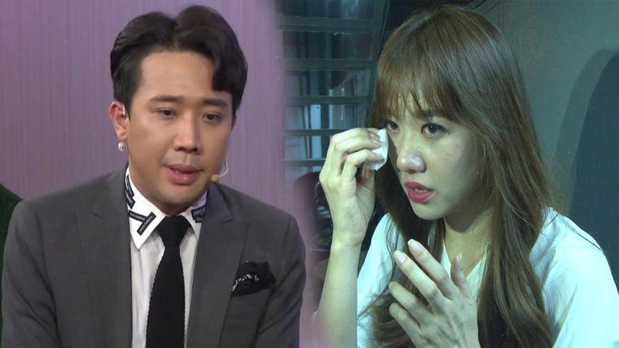 Trấn Thành tiết lộ chuyện Hari Won từng muốn tự sát