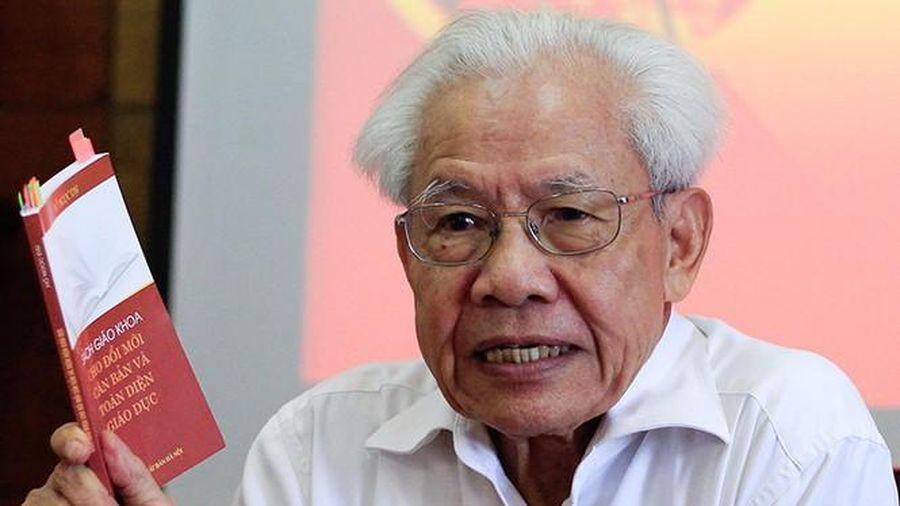 GS Hồ Ngọc Đại: Sẵn sàng đối thoại về SGK Tiếng việt 1 – Công nghệ