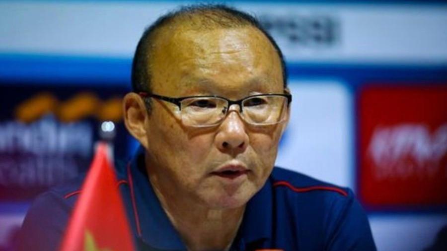HLV Park Hang Seo họp báo trước trận đấu với Brunei