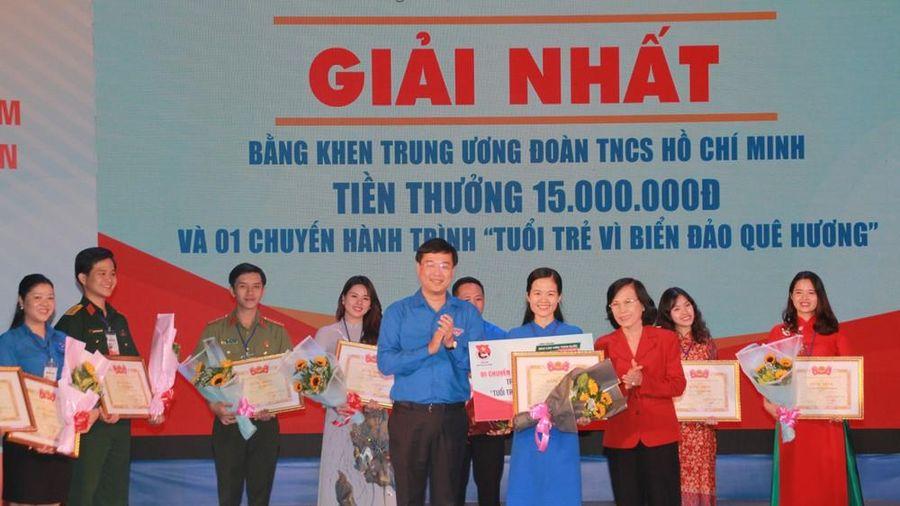 Cao Thị Hải Vân về nhất Hội thi Báo cáo viên giỏi toàn quốc năm 2019