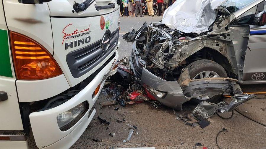 Một thiếu tá quân đội điều khiển ô tô gây tai nạn chết người ở Đà Lạt