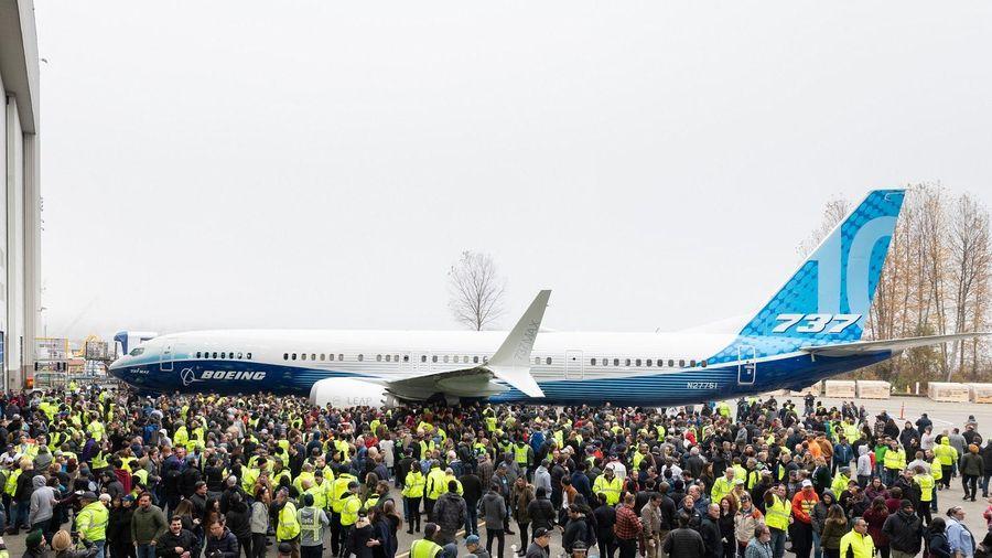 Boeing ra mắt máy bay 737 MAX 10