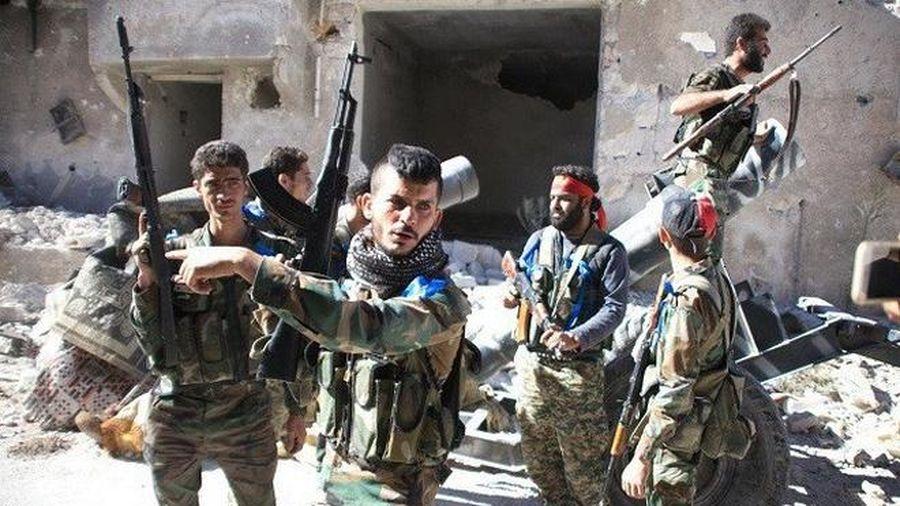 Quân đội Syria tấn công dữ dội phiến quân thánh chiến ở Aleppo
