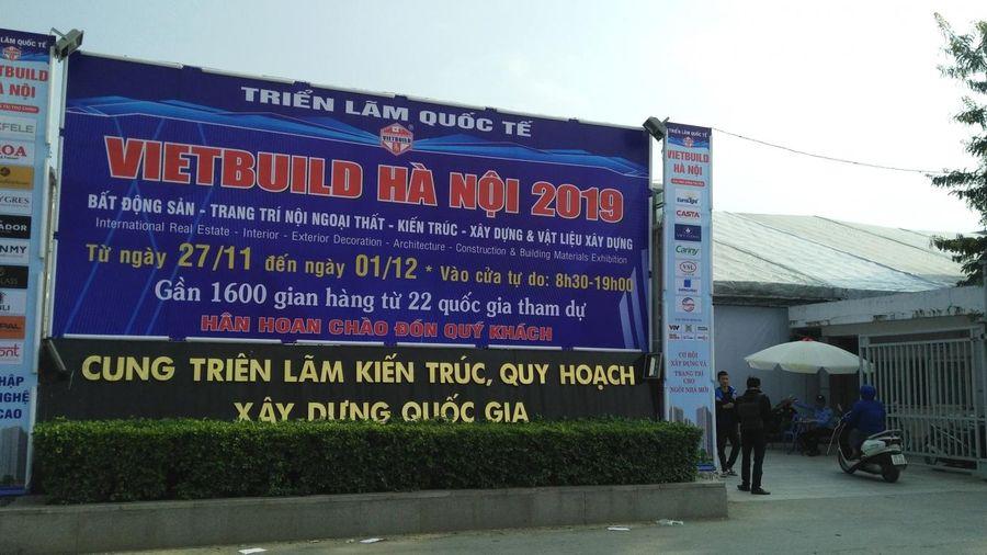 Gần 1.600 gian hàng tham gia Vietbuild Hà Nội 2019 - lần III