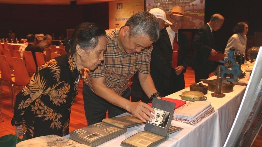 Bảo tàng Hà Nội tiếp nhận hơn 800 tài liệu, hiện vật quý