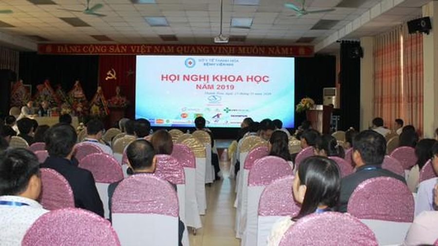 Bệnh viện nhi Thanh Hóa tổ chức hội nghị khoa học
