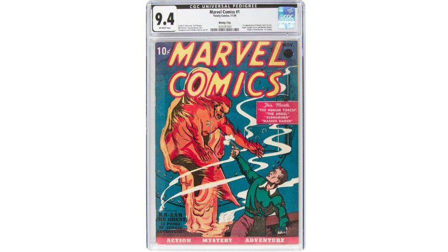 Từ 10 xu đến 1,3 triệu USD, bộ truyện tranh đầu tiên của Marvel lập kỷ lục đấu giá