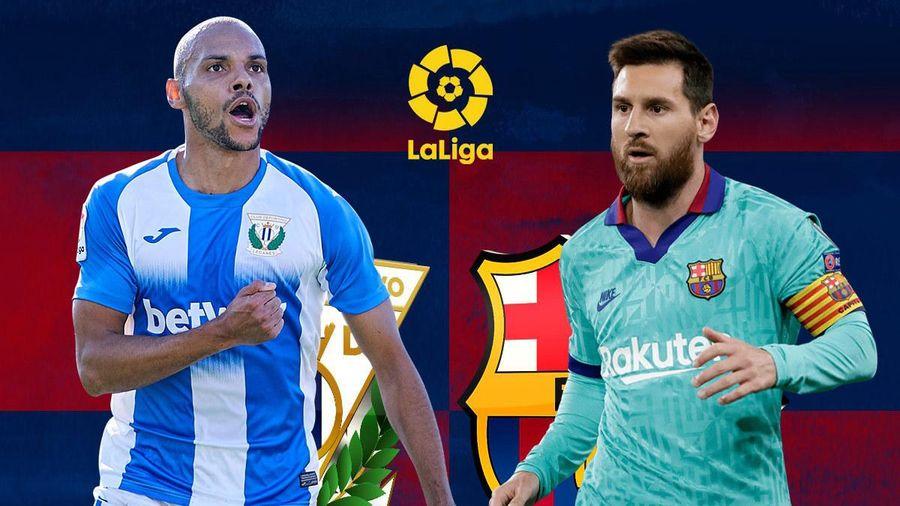 Trực tiếp Leganes vs Barca: Sức mạnh Messi