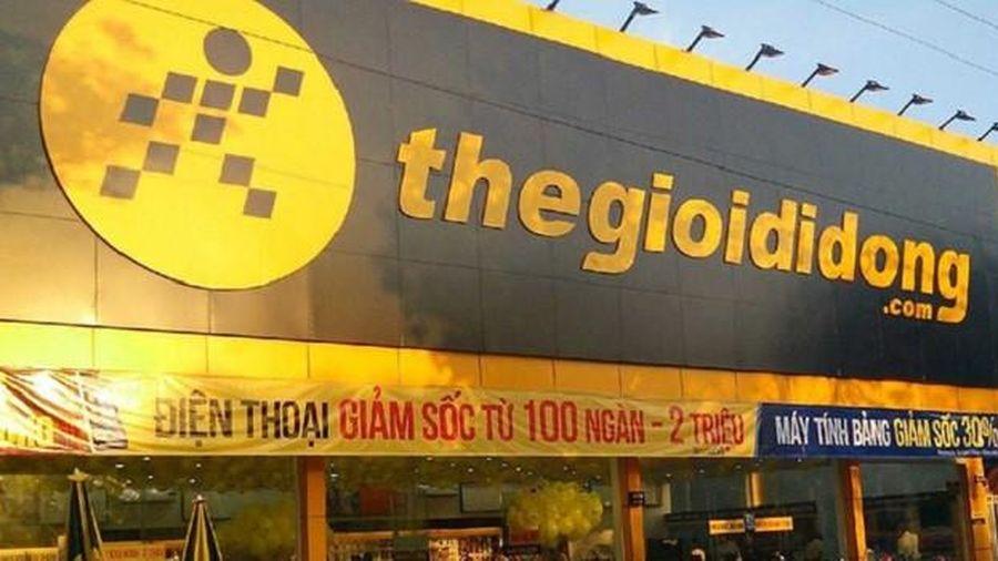 Mở mới 106 cửa hàng trong tháng 10, doanh thu của Thế giới Di động (MWG) tăng 17%