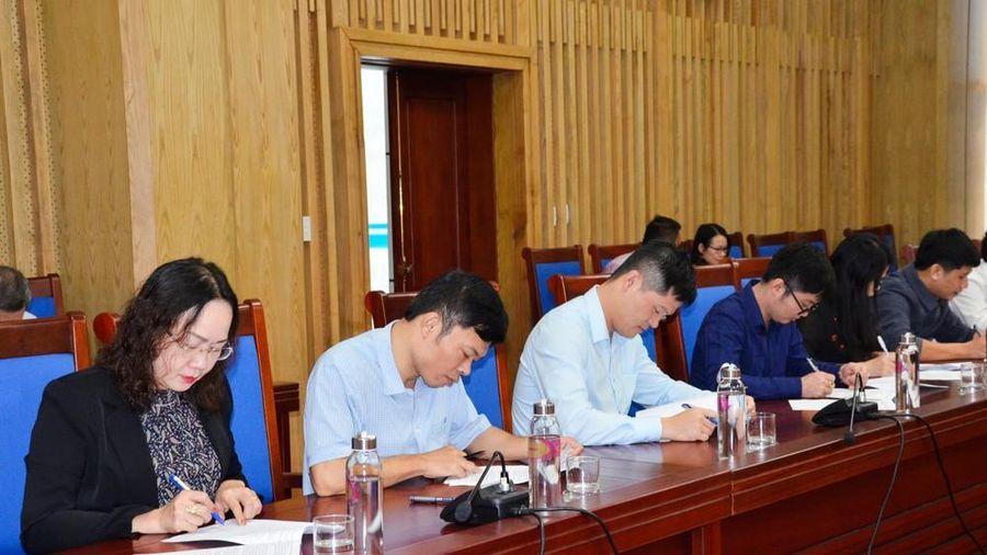 Văn phòng UBND tỉnh Nghệ An kiểm tra, sát hạch công chức năm 2019