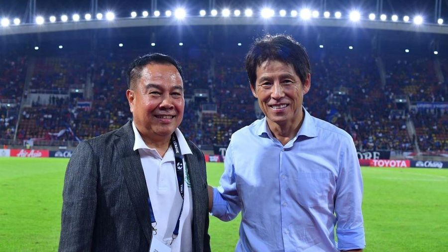 Học Việt Nam, Thái Lan gia hạn hợp đồng với ông Nishino: Quyết vượt ao làng vươn ra thế giới