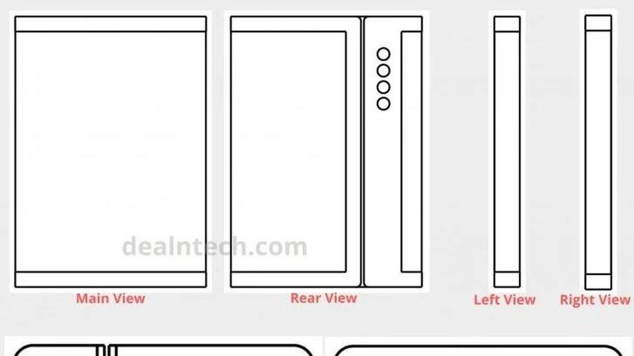 Lộ bằng sáng chế smartphone 'màn hình gập ba' của Xiaomi