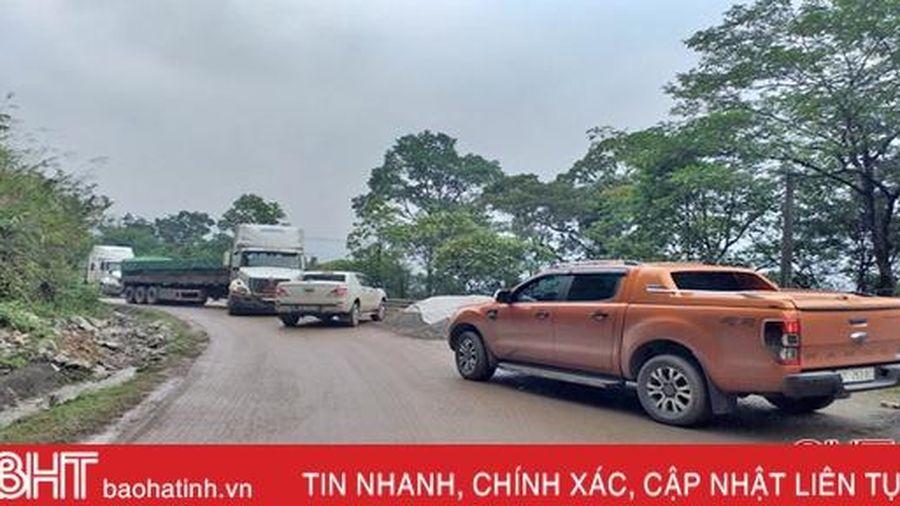 Hà Tĩnh đề nghị Bộ GTVT cho tỉnh đầu tư mở rộng hơn 543m Quốc lộ 8