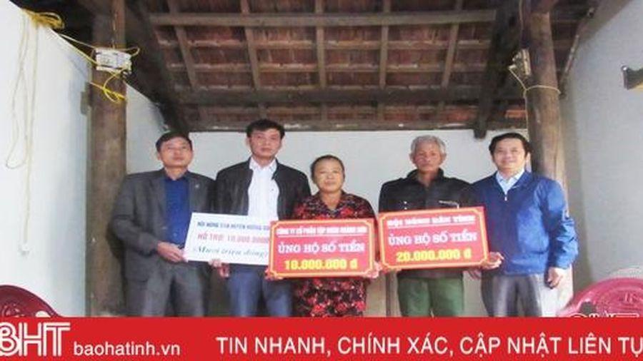 Hội Nông dân Hà Tĩnh bàn giao nhà tình nghĩa cho hội viên nghèo