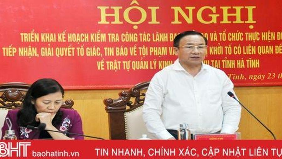 Hà Tĩnh luôn có trách nhiệm, ý thức cao trong phòng, chống tham nhũng