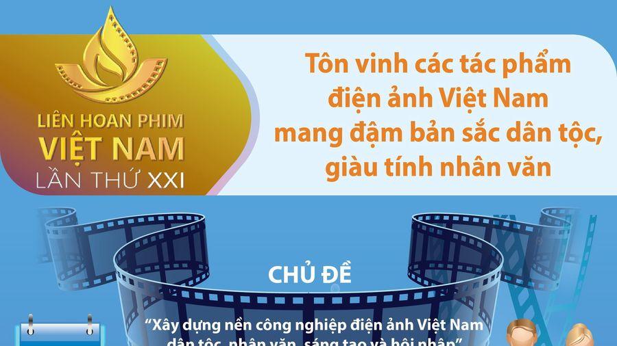 Liên hoan phim Việt Nam 21: Tôn vinh tác phẩm đậm bản sắc dân tộc