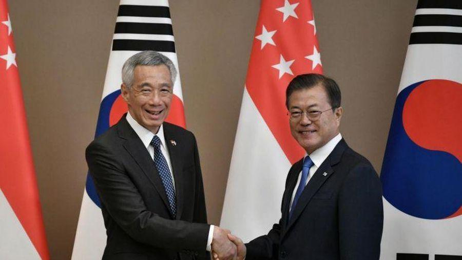 Thủ tướng Singapore Lý Hiển Long thăm chính thức Hàn Quốc