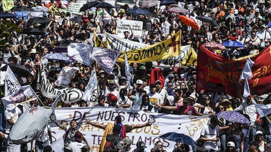 276 người thương vong trong cuộc tổng bãi công tại Colombia