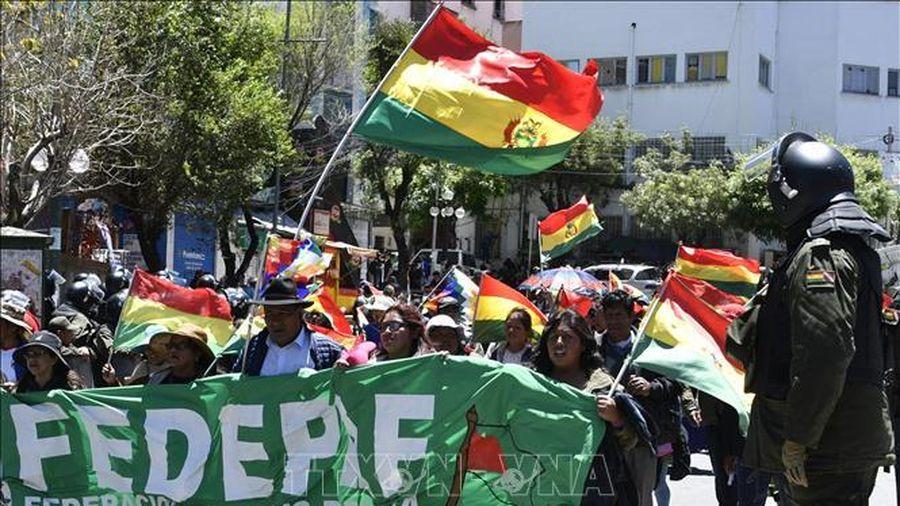 Chính phủ lâm thời Bolivia tìm hướng hạ nhiệt căng thẳng