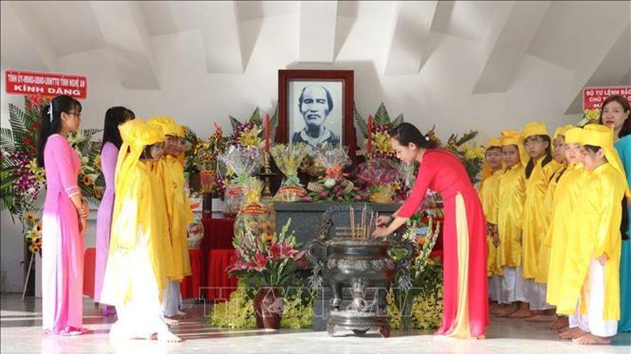 Tri ân công lao to lớn của cụ Phó Bảng Nguyễn Sinh Sắc